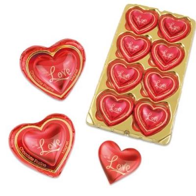 16 St. Magnetherz  Love  auf Pralinenherz
