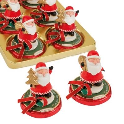 Polyresin - Nikolaus auf Pralinentaler