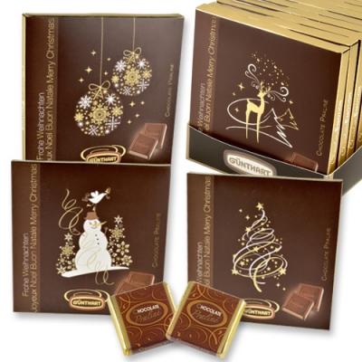 """Chocolate-Praliné-Präsent """"Weihnachten""""mit Napolitains"""